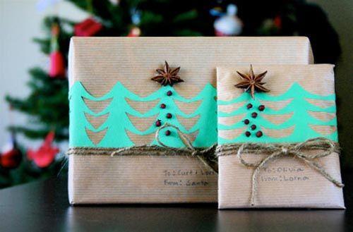 decoracion regalo arboles navidad