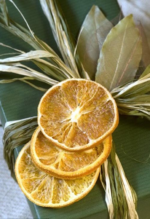 regalo decorado frutas secas
