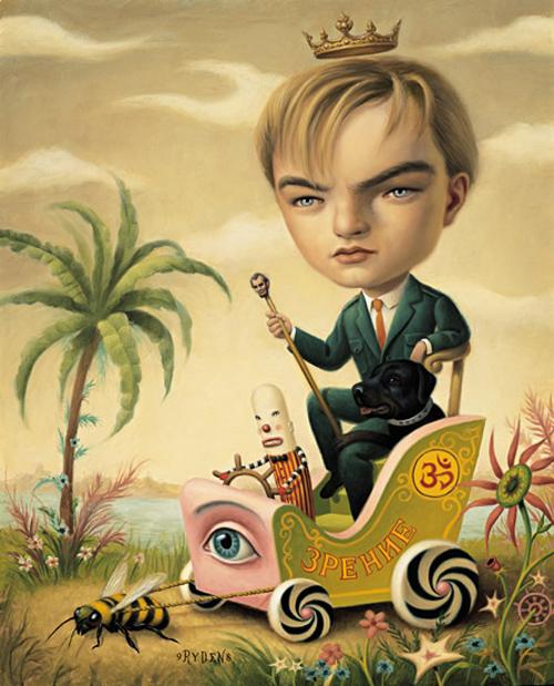 leonardo dicaprio pintor mark ryden