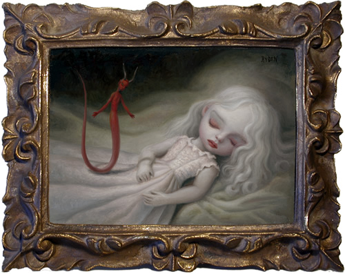 night visit pintor mark ryden