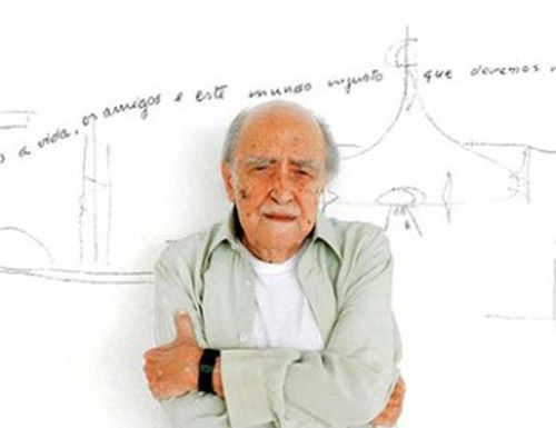 arquitecto brasileño oscar niemeyer
