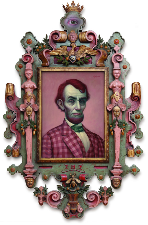 pink lincoln pintor mark ryden