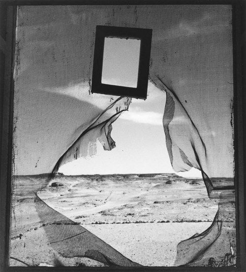 lee miller portrait of space retrato del espacio