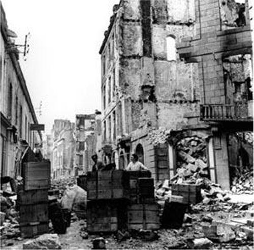 lee miller ruins old st malo