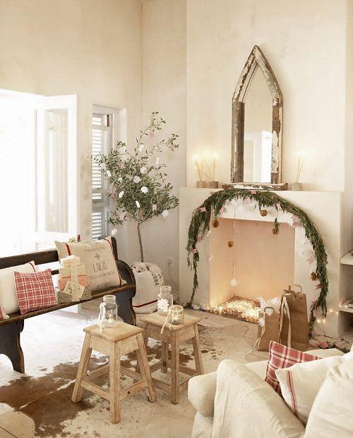 sala navidad vintage