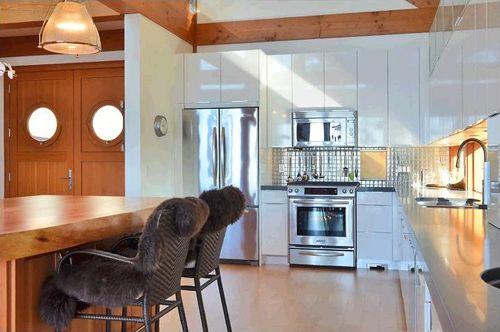 cocina casa madera columbia britanica