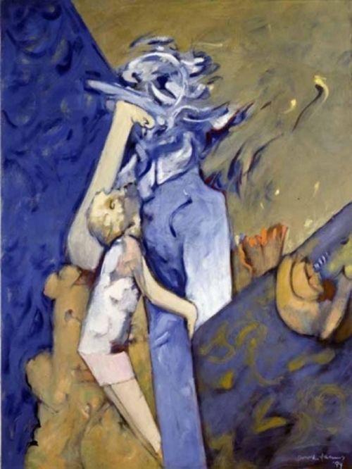 blue mom artista dorothea tanning