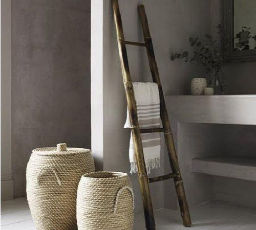 colgador ropa escalera madera decoracionde-interiores.com