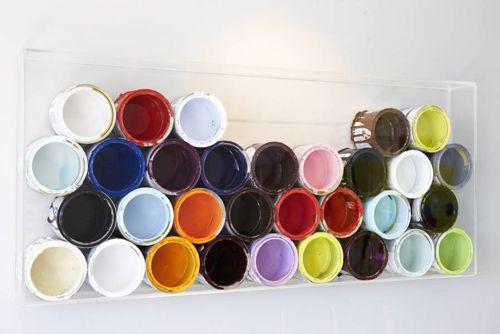 cuadro moderno botes pintura decoralia.es