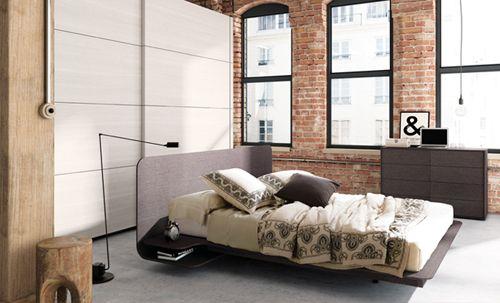 dormitorio familiar marron kibuc