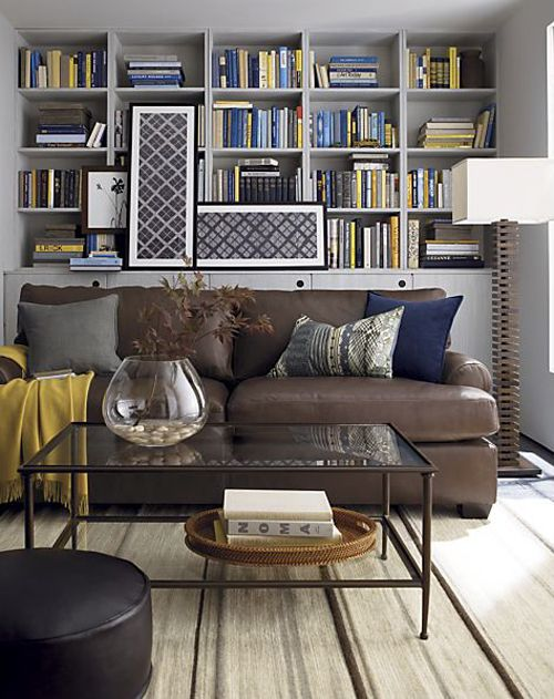 ellis leather sofa create and barrel