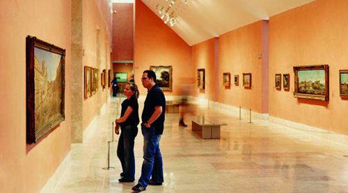 interior museo thyssen bornemisza madrid
