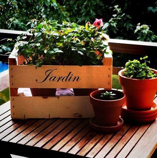jardinera caja fruta manualidades.facilisimo.com