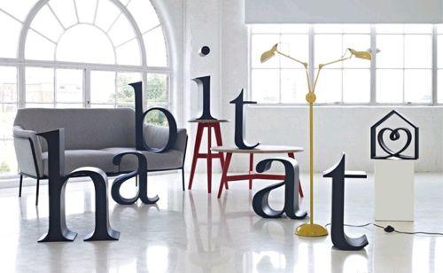 Tiendas Habitat, diseño y decoración de calidad