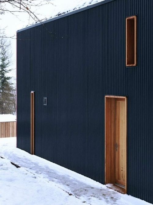 casa negra puertas madera pinterest