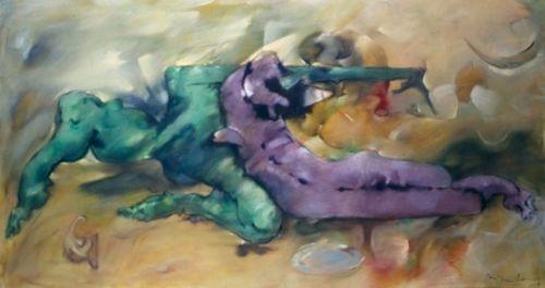 salut delire pintado artista dorothea tanning