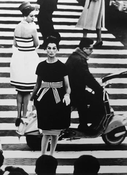 simone & nina piazza di spagna roma para vogue 1960 william kein