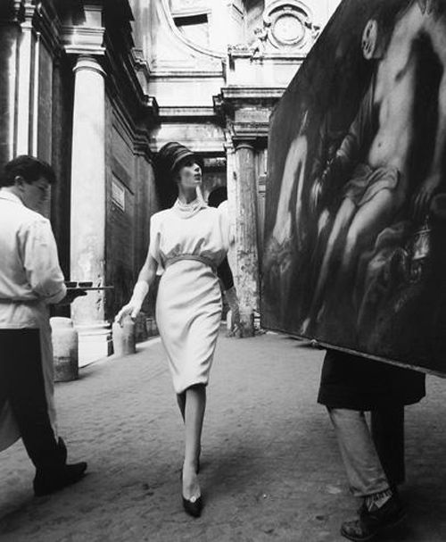 simone painting coffee roma 1960 william klein