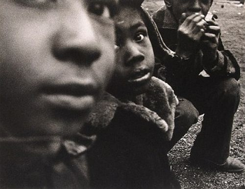 three black kids nueva york 1955 william klein