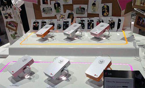 lg pocket photo gadget diseño