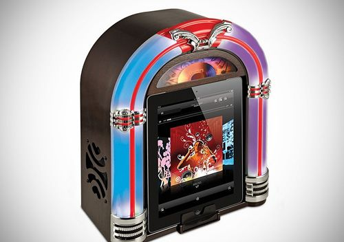 ion jukebox dock gadget diseño