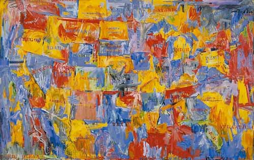 jasper johns obra pop art blog.thefineartblog.com