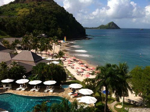 Hotel Sport, en St Lucia.