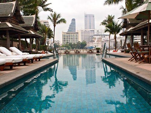 Hotel Península en Bangkok.