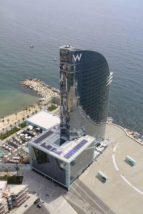 Hotel W en Barcelona hoteles de lujo