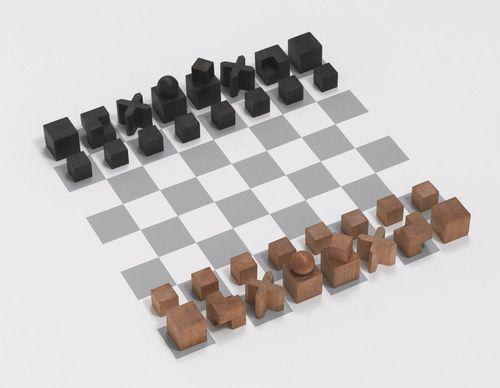 bauhaus ajedrez chess set josef hartwig