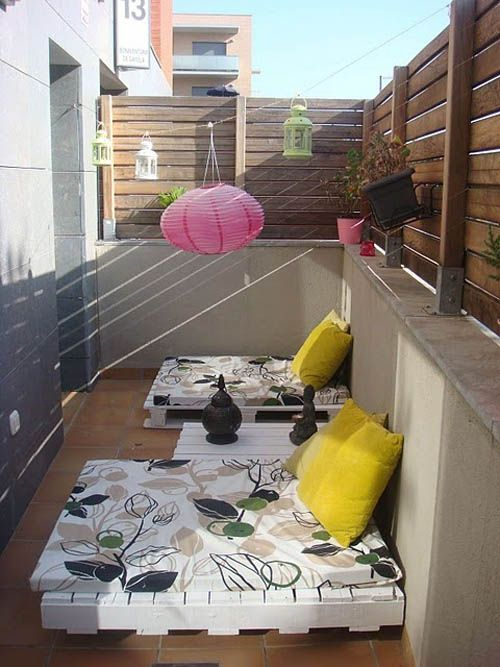 terraza chill out palet pinterest