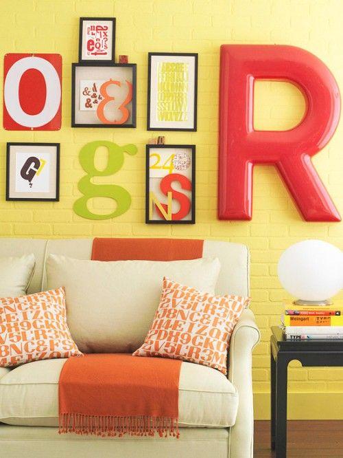 decorar paredes estilo pop