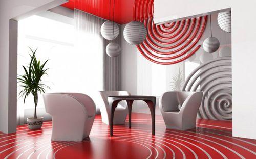 decoracion paredes vanguarditas