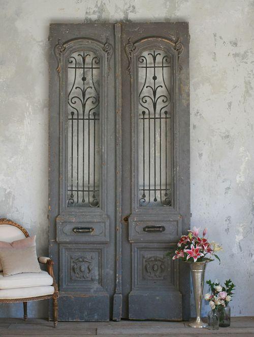 decoracion puerta diseños vintage