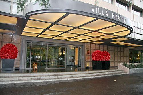 entrada hotel villamagna madrid decoracionenvidirio.com