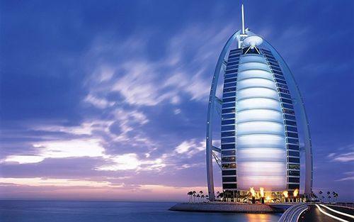 Hotel Burj Al Arab en Dubai. Hoteles de lujo