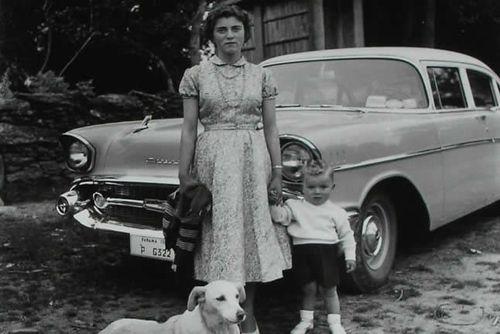 fotografia recordatorio madre hijo blanco negro fotografo virxilio vieitez landra.es