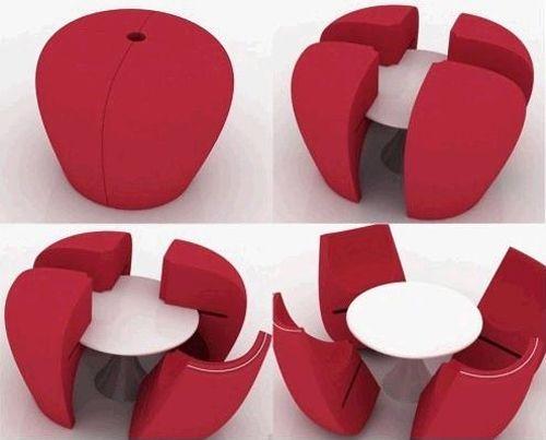 mueble transformable mesa sillas 7amazincreations.com