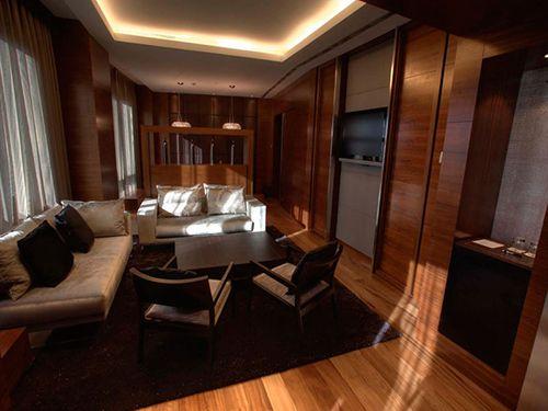 suite ejecutiva salon hotel eurostars madrid