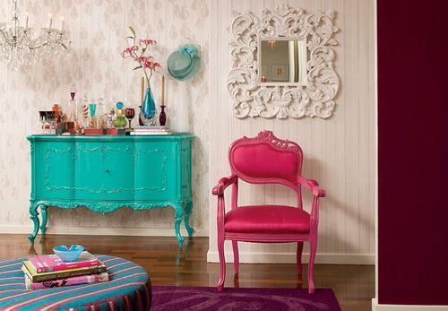 decoracion habitacion vintage