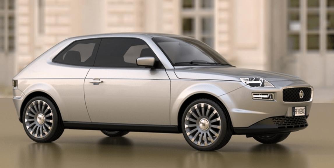 coche clasico fiat 127 version actualizada
