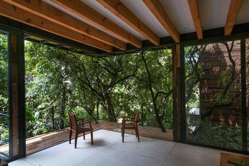 casa chipicas terraza al aire libre