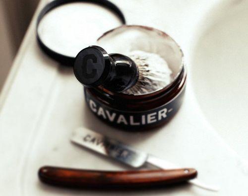 cepillo diseño afeitar cavalier