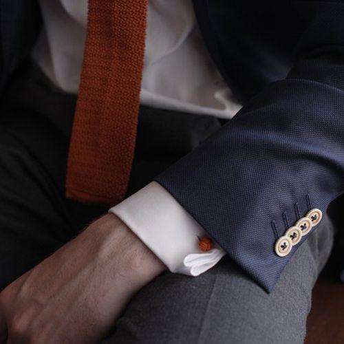 corbata roja seda