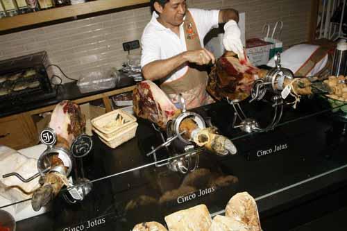 puesto cortador jamon iberico restaurante cocina san anton facebook