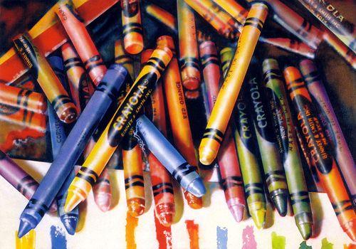 crayola hiperrealista audrey flack