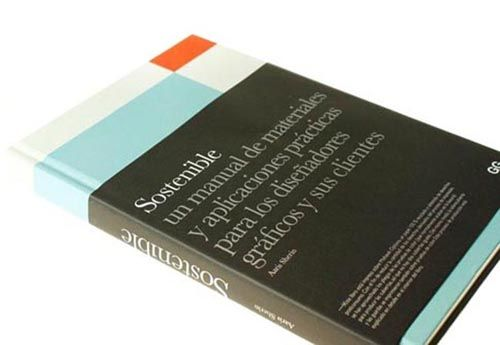 diseño grafico sostenible libro portada
