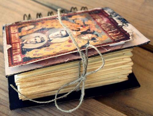 scrap forma cuaderno