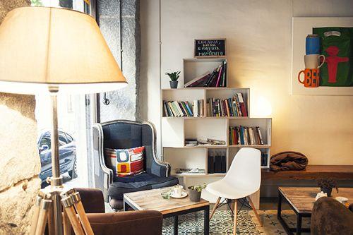La Ciudad Invisible, una cafetería de viajes