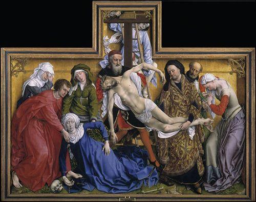 El Descendimiento, de Van der Weyden.